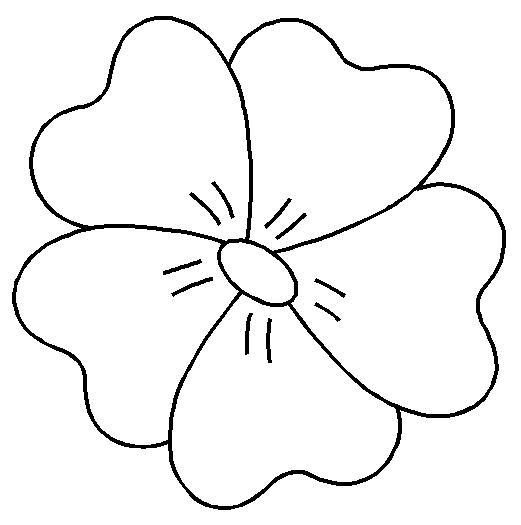 Sp cial f te des mamans - Fleur a colorier et a decouper ...